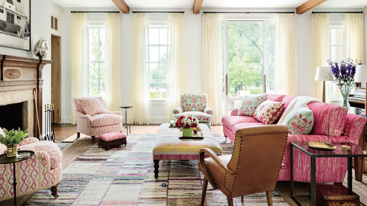 What if you decorate your house in Pink?